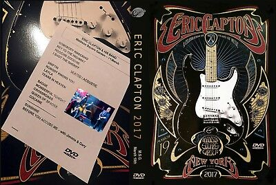 Eric Clapton. 2017. Madison Square Garden. March 19Th Day. Dvd