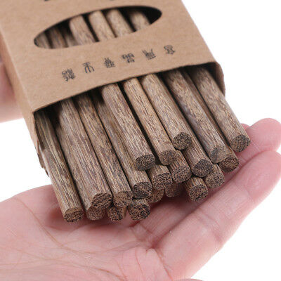 10pairs Natural Wooden Bamboo Chopsticks Health Without Lacquer Dinnerware BIZY