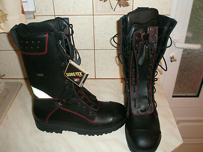 Firefighter Zipper Boots Brand New With Tags  Size 45