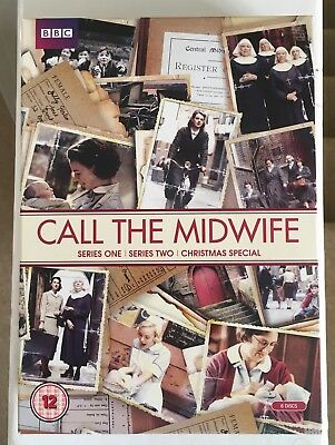 Call the Midwife Series 1-2 DVD Box Set