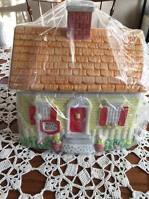 Nestle Toll House Cookie Jar & Lid Usa 1992 Limited Edition Mint