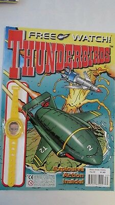 Thunderbirds Comic No 30 With Free Gift
