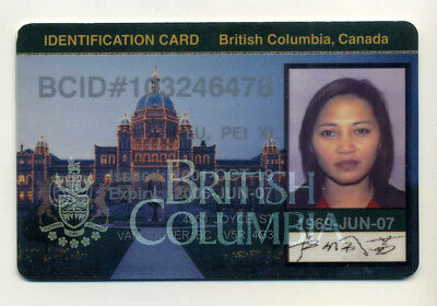 Canadian Passport ID card Reisepass Passeport Pasaporte Passaporto of British Co