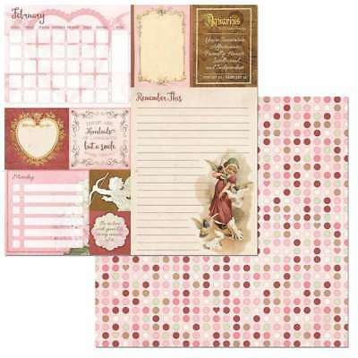 """On This Day Double-Sided Cardstock 12""""X12"""" February 665573072474"""