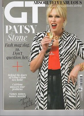 GT Gay Times Magazine Absolutely Fabulous Patsy