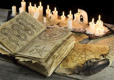 WitchCraft and Occult Books, Massive Collection, PDF Files, DOWNLOAD