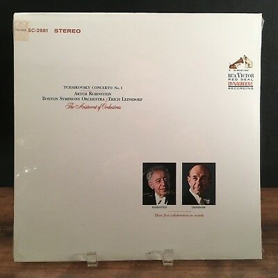 SEALED Rubinstein/Tchaikovsky Concerto No. 1 1963 RCA Victor Red Seal LSC-2681