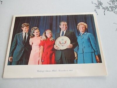 Vintage 1968 Richard Nixon Christmas Card