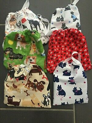 Dog Treat pouch bag For Walks Training waterproof hand crafted NEW lobster clip