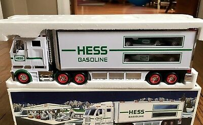 Hess Toy Truck And Race Car 2003 *new In Original Packaging And Mint Condition*
