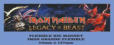 Iron Maiden Legacy Of The Beast Flexible Big Magnet Imán Grande