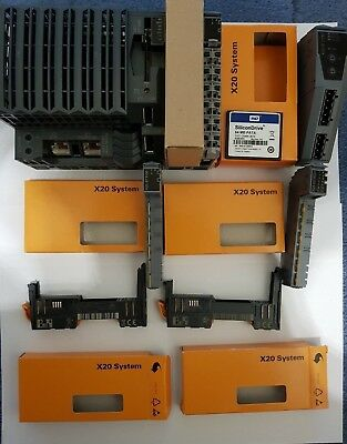 B&R X20 CP1484 + X20 BM 11 + X20 BM 15 + X20 BT9100 +IF 2792 +Flash Card
