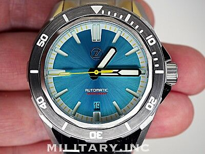 ✅ Zelos Swordfish 300M Diver Aquamarine Le 30 International Shipping Usa Dealer