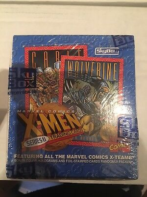 X-Men Trading Cards Series II 2 Skybox 1993 Factory Sealed Unopened Box
