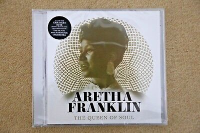 Aretha Franklin The Queen Of Soul  ( 2 Cd )     Brand New Genuine Uk Retail Cd