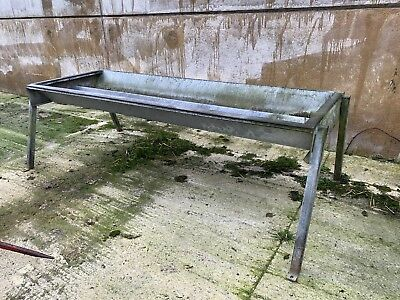 cattle feed trough