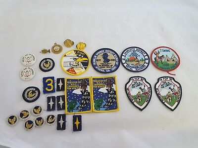 Large Lot of Vintage Royal Ranger Patches and Pinbacks 1980s-1990s