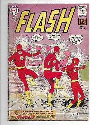 Flash #132 (1962) - Check Scans, Ok Condition!!!