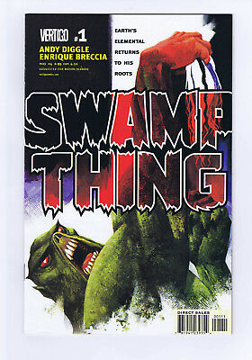 Vertigo Swamp Thing Vol 4 Issues 1-8 In Brand New Unread Condition Andy Diggle
