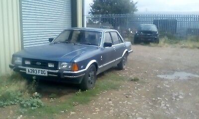 FORD GRANADA 2.8 GHIR AUTO running and driving project with mot