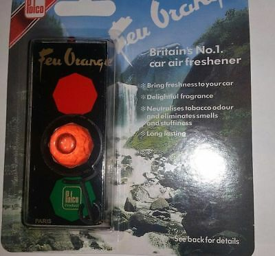 Feu Orange Original Polco Air-freshener Traffic light, rare, retro