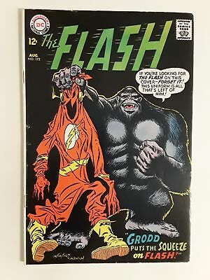 The Flash #172 (Fn- 5.5) 1967 Gorilla Grodd Cover & Appearance