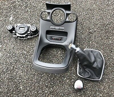 Ford Fiesta ST180 ST-3 Gear Knob,gaiter,Heated Seat Switch, Climate Cont Panel