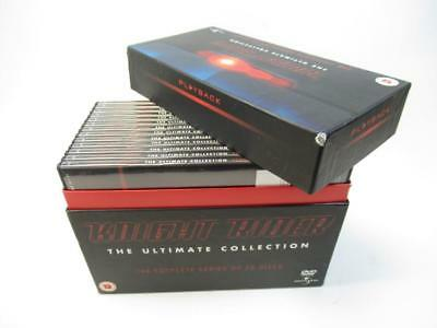 Knight Rider The Ultimate Collection The Complete Series on 26 Discs DVD Box Set