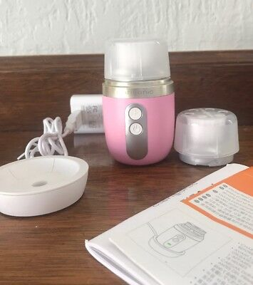 Clarisonic Mia Fit Pink 2-Speed Portable Travel Size Sonic Cleansing Device