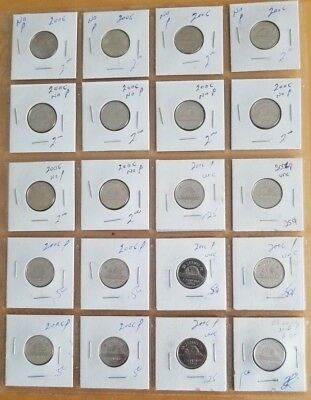 20 x Canadian 5 Cents OF YOUR CHOICE ** See Long Date List ** BU Condition