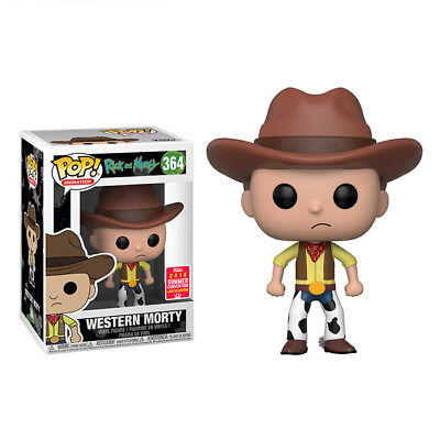 Funko POP! Animation Rick and Morty Western Morty 2018 SDCC/Share Exclusive #364