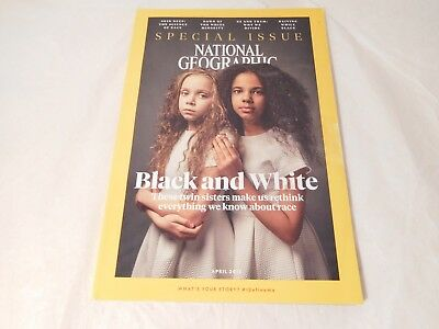 National Geographic Black and White Rethink Race April 2018 Special Issue