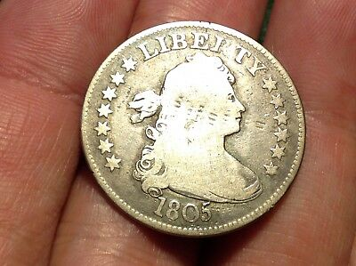 1805 Draped Bust Quarter #2  AFFORDABLE & BEAUTIFUL EARLY DATE!!!!    L@@K!!!