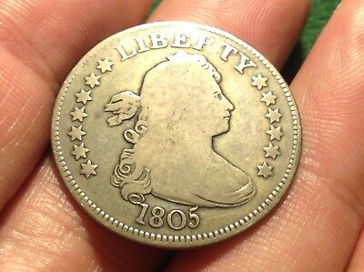 1805 Draped Bust Quarter   AFFORDABLE & BEAUTIFUL EARLY DATE!!!!    L@@K!!!