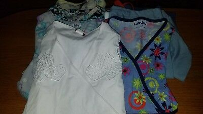 Scrub Pants and Tops Small Lot of 2 Pants and 5 Tops Mixed brands