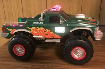 2007 Hess Toy Monster Pickup Truck with Working Lights --Shown In Picture