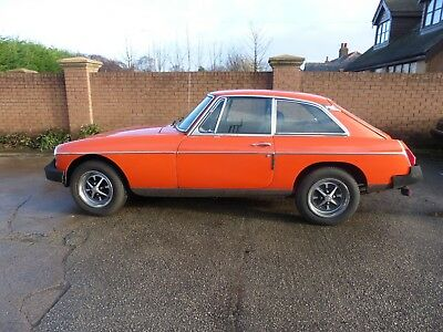 MGB GT 1 Owner from new Very Genuine original car only 71k miles