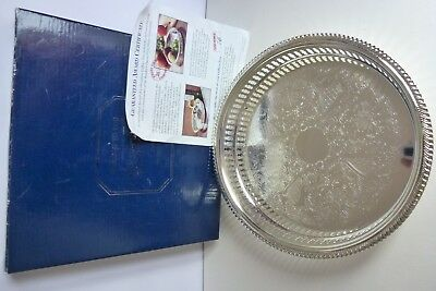Silver Plated Gallery Tray - new