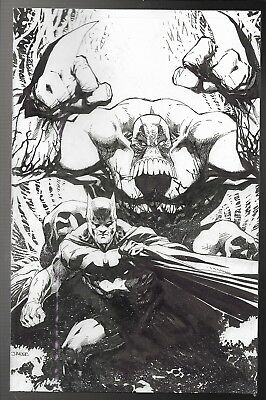 Batman The Maxx Arkham Dreams #1 Jim Lee NYCC Virgin Sketch Variant VF