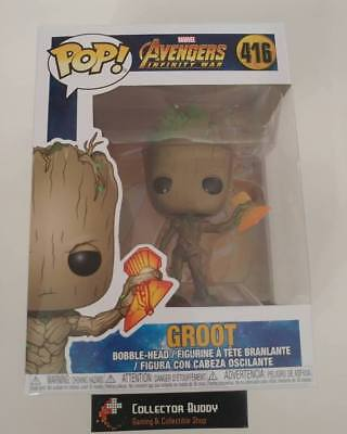 Funko Pop! Marvel 416 Avengers Infinity War Groot Pop Vinyl Figure FU35773