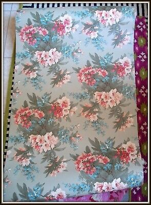 New & Rare!! Vintage Mackenzie Childs Floral Wallpaper Component ~ Last One!