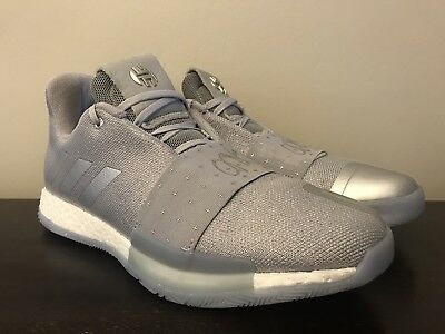 0890ad424c08 Adidas Men s James Harden Volume 3 Boost Basketball Shoes Sizes 10-12 F36443