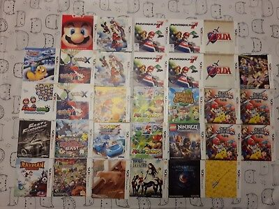 Lot 32X 3Ds Instructions Booklet : Mario Kart Zelda Super Smash Bros Pokemon