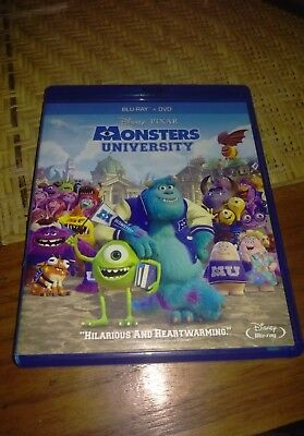 Monsters, Inc. University Blu-ray no digital Disney's Pixar John Goodman Billy C