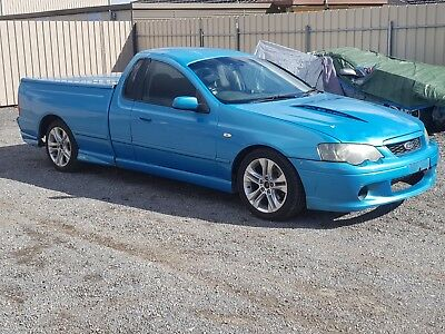 2004 Ford Falcon Ba Mkii Xr6 Turbo Ute 137Km 4.0L 6Spd Manual Damaged Repairable