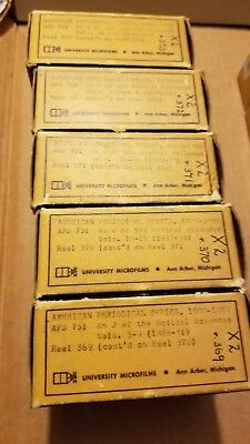 ANERICAN JOURNAL OF MEDICAL SCIENCE 1828 THRU 1844 5 micro film