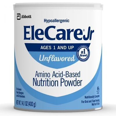 EleCare Jr. (1 and Up) Unflavored Powder with DHA/ARA (6 Cans) FREE SHIPPING