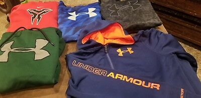 UNDER ARMOUR / Nike Youth Boys Mixed Lot Shirts  Hoodie Size YXL youth XL