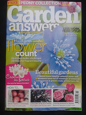 New February 2019 Issue Garden Answers Magazine