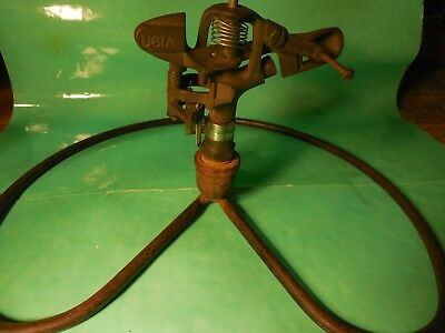 VTG  Nelson Alpha 2 Brass and iron Sprinkler